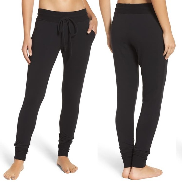 Free People Pants - Free People Sunny Sweatpant Black S